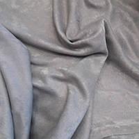 Ткань для штор серый цвет, Софт Турция