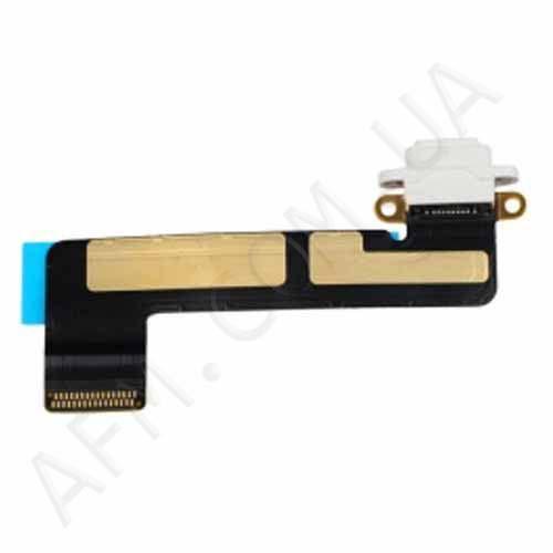 Шлейф (Flat cable) iPad mini c коннектором на зарядку белый
