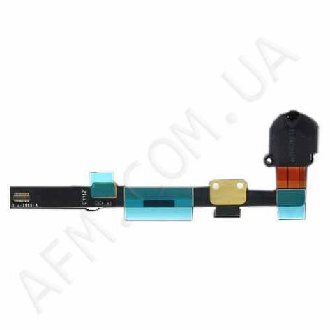 Шлейф (Flat cable) iPad mini c коннектором на наушники чёрный, фото 2