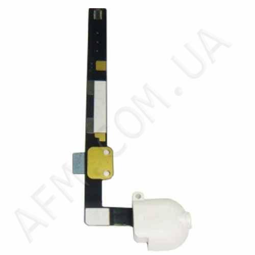 Шлейф (Flat cable) iPad mini c коннектором на наушники белый