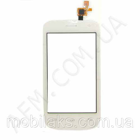 Сенсор (Touch screen) Fly IQ445 белый, фото 2