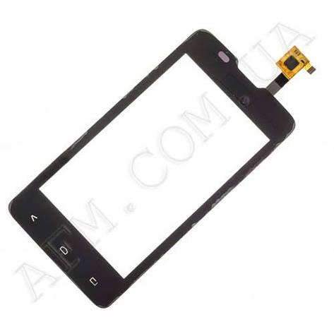 Сенсор (Touch screen) Fly IQ449 чёрный, фото 2