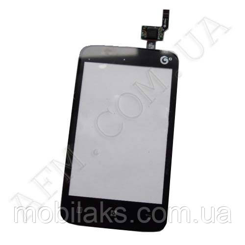 Сенсор (Touch screen) Lenovo A288/  A288T чёрный