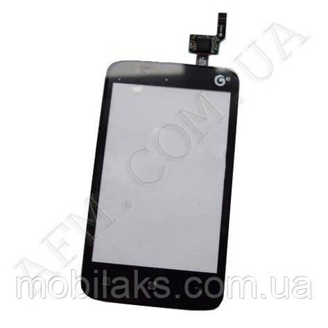 Сенсор (Touch screen) Lenovo A288/  A288T чёрный, фото 2