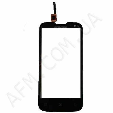 Сенсор (Touch screen) Lenovo A830 чёрный, фото 2