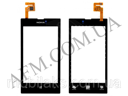 Сенсор (Touch screen) Nokia 520/  525 Lumia чёрный копия, фото 2