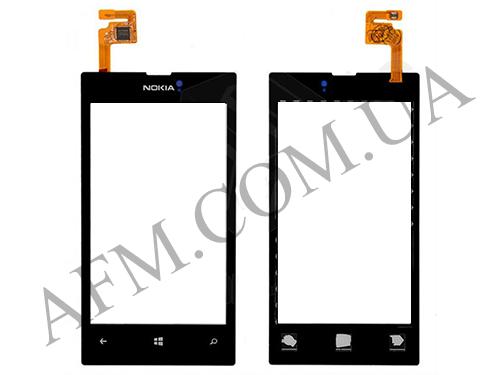 Сенсор (Touch screen) Nokia 520/  525 Lumia чёрный оригинал