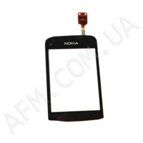 Сенсор (Touch screen) Nokia C2- 03/  C2- 02/  C2- 06 чёрный копия, фото 2