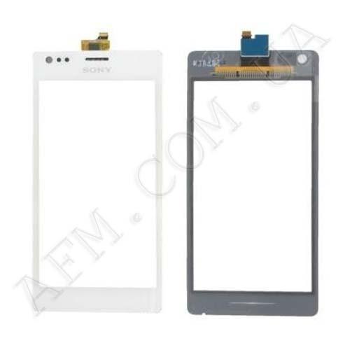 Сенсор (Touch screen) Sony C1905/  C1904/  C2004/  C2005 Xperia M белый