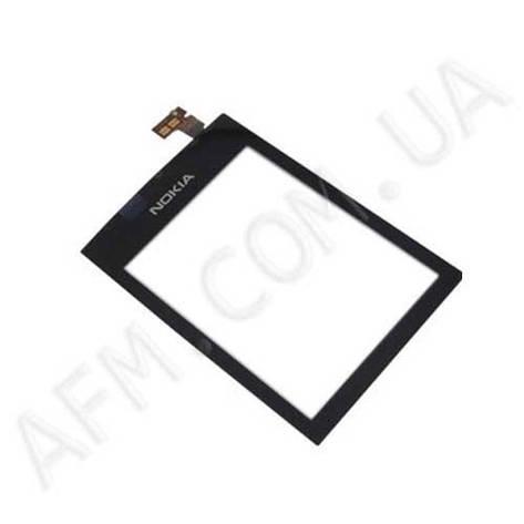 Сенсор (Touch screen) Nokia 300 Asha чёрный оригинал, фото 2