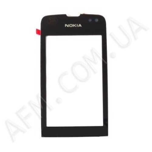 Сенсор (Touch screen) Nokia 311 Asha чёрный копия