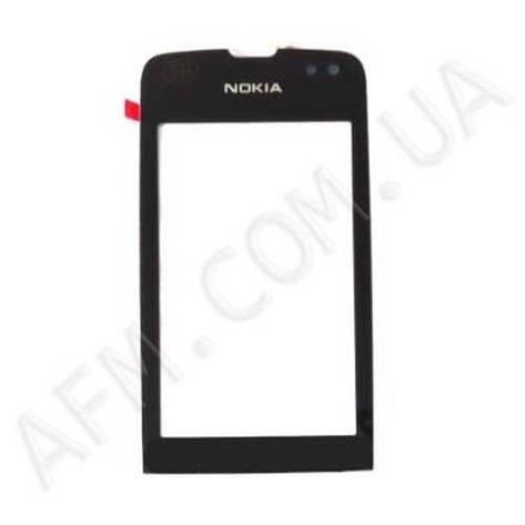 Сенсор (Touch screen) Nokia 311 Asha чёрный копия, фото 2
