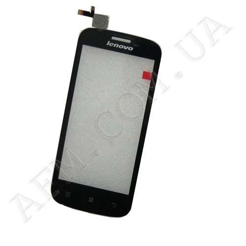 Сенсор (Touch screen) Lenovo A760/  A706T чёрный