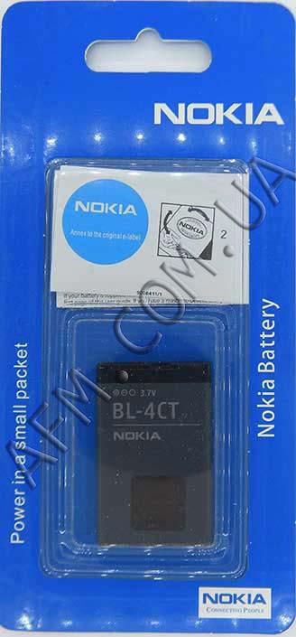 АКБ оригинал Nokia BL- 4CT Nokia 5310/  X3/  5630/  7230