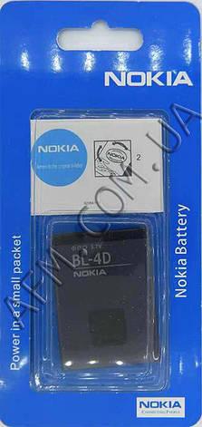 АКБ оригинал Nokia BL- 4D Nokia N97, фото 2