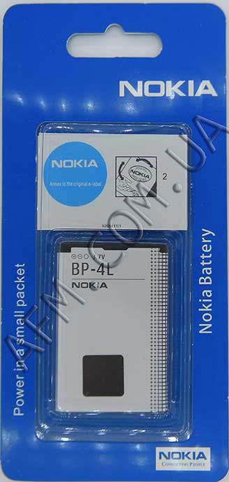 АКБ оригинал Nokia BP- 4L/  BL- 4L Nokia E52/  E63/  E72/  E90/  N97