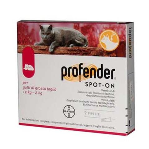 Профендер 1,12 (крас) пипетка на 5-8 кг