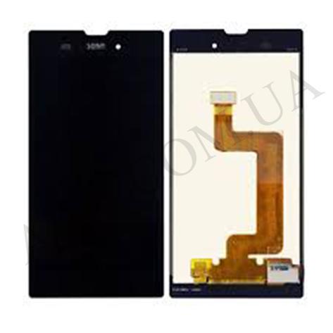 Дисплей (LCD) Sony D5102/  D5103/  D5106 Xperia T3 с сенсором чёрный, фото 2