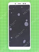 Дисплей Xiaomi Redmi Note 5 с сенсором, панелью, белый, Оригинал #560410020033