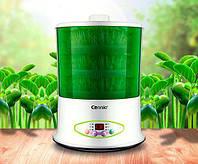Спроутер для проращивания зёрен и семян Connie CB-A361 (3 уровня) + йогуртница, фото 1