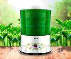 Спроутер для проращивания зёрен и семян Connie CB-A361 (3 уровня) + йогуртница