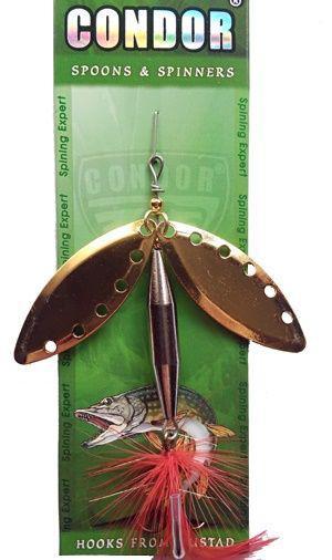 Блесна-вертушка двойная Condor 5105-3 Color 206 20г