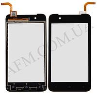 Сенсор (Touch screen) HTC 210 Desire Dual Sim чёрный