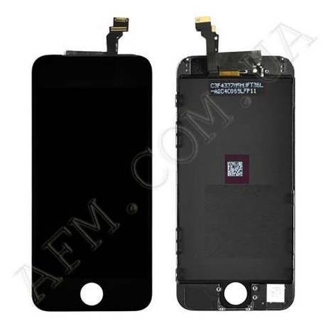 Дисплей (LCD) iPhone 6 (4.7) с сенсором чёрный, фото 2
