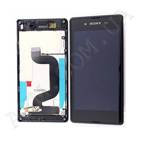 Дисплей (LCD) Sony D2202/  D2203/  D2206/  D2243 Xperia E3 с сенсором чёрный оригинал, фото 2