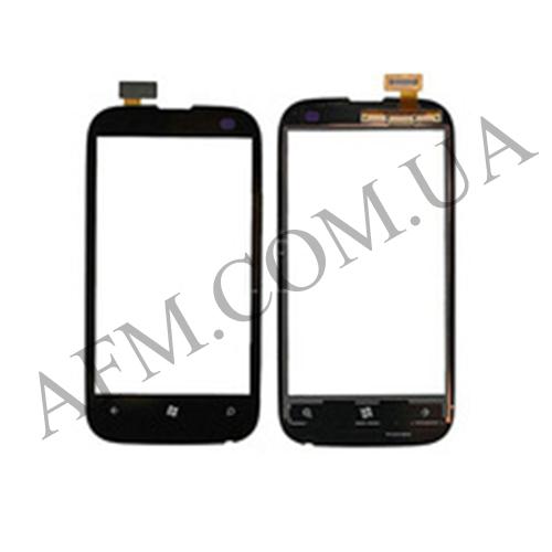 Сенсор (Touch screen) Nokia 510 Lumia чёрный копия