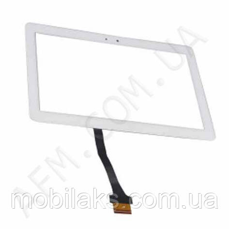 Сенсор (Touch screen) Samsung P5100/  P5110/  P5113/  N8000 Galaxy Tab 2 (10.1) белый, фото 2