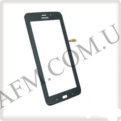 "Сенсор (Touch screen) Samsung T116 Galaxy Tab 3 Lite 7.0"" LTE Wi- fi чёрный, фото 2"
