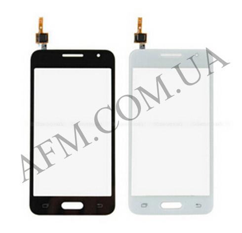 Сенсор (Touch screen) Samsung G355H Galaxy Core Plus Duos черный, фото 2