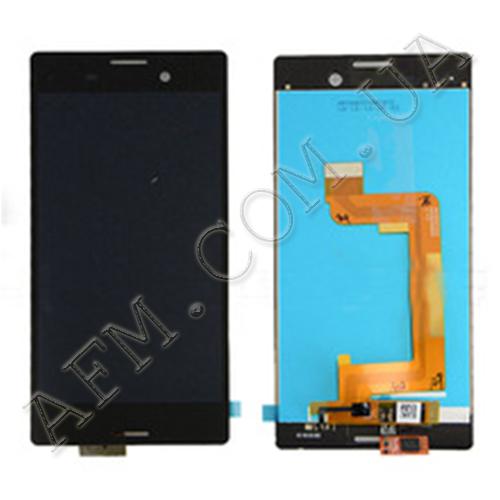 Дисплей (LCD) Sony E2303 Xperia M4 Aqua/  E2306/  E2312/  E2333/  E2353/  E2363 с сенсором чёрный