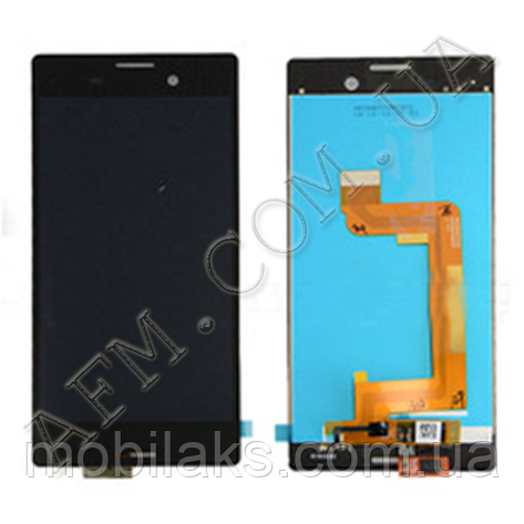 Дисплей (LCD) Sony E2303 Xperia M4 Aqua/  E2306/  E2312/  E2333/  E2353/  E2363 с сенсором чёрный, фото 2