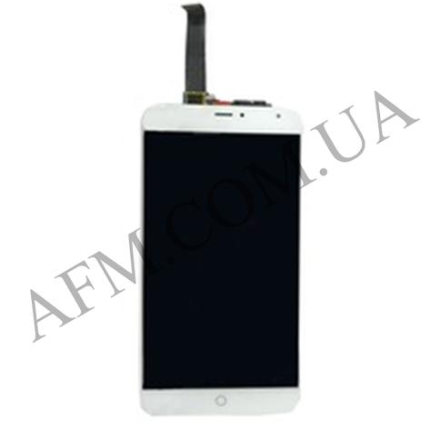 Дисплей (LCD) Meizu MX4 5.3 с сенсором белый, фото 2