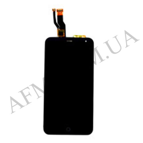 Дисплей (LCD) Meizu M1/  M1mini с сенсором чёрный