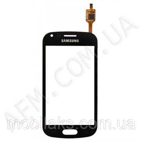 Сенсор (Touch screen) Samsung S7562/  S7560 чёрный оригинал, фото 2