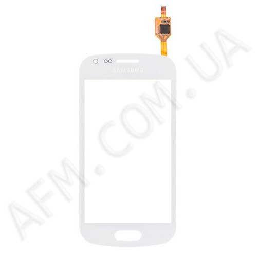 Сенсор (Touch screen) Samsung S7562/  S7560 белый оригинал