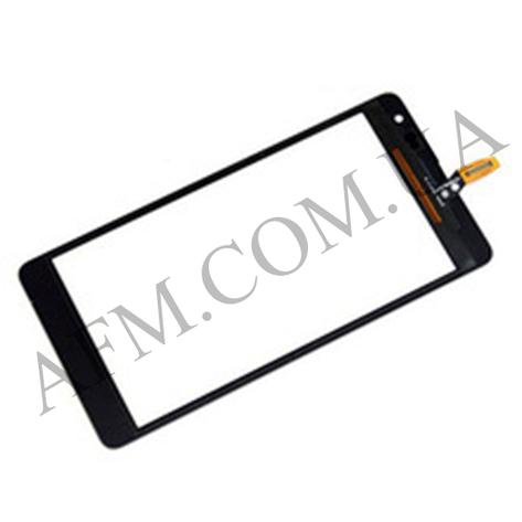 Сенсор (Touch screen) Microsoft 535 Lumia Dual SIM (ct2C) чёрный оригинал, фото 2