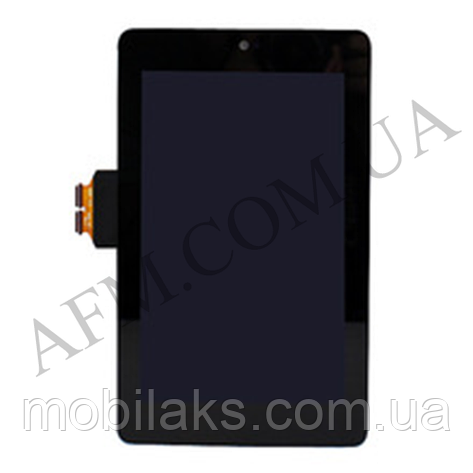 Дисплей (LCD) Asus ME370 Google Nexus 7 (Wi- Fi) с сенсором чёрный (1 поколение 2012), фото 2