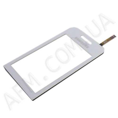 Сенсор (Touch screen) Samsung S5230 Star белый