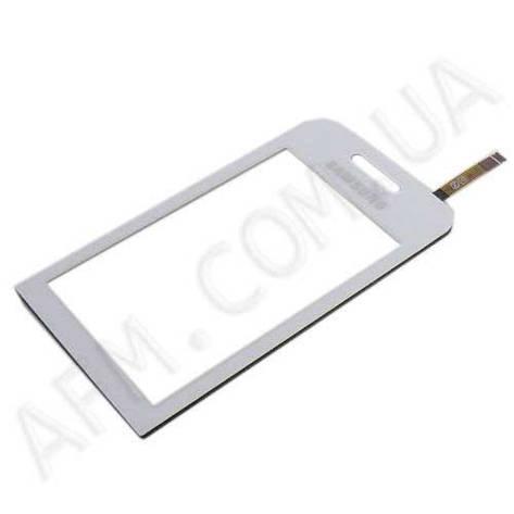 Сенсор (Touch screen) Samsung S5230 Star белый, фото 2