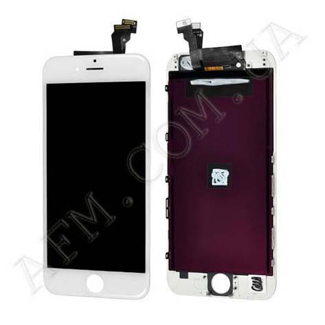 Дисплей (LCD) iPhone 6 (4.7) с сенсором белый, фото 2