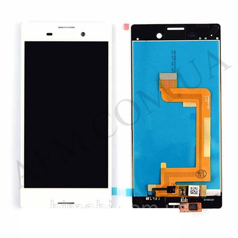 Дисплей (LCD) Sony E2303 Xperia M4 Aqua/  E2306/  E2312/  E2333/  E2353/  E2363 с сенсором белый, фото 2