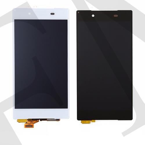 Дисплей (LCD) Sony E6603 Xperia Z5/  E6653/  E6683 с сенсором белый оригинал