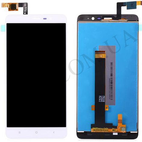 Дисплей (LCD) Xiaomi Redmi Note 3/  Redmi Note 3 Pro с сенсором белый, фото 2