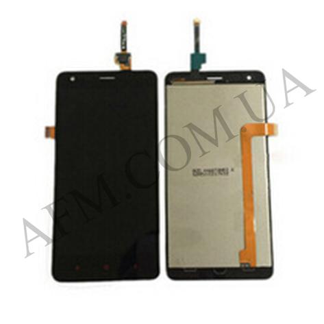 Дисплей (LCD) Xiaomi Redmi 2 с сенсором чёрный, фото 2