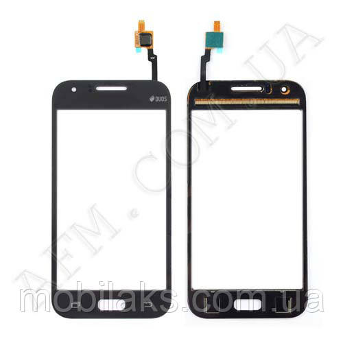 Сенсор (Touch screen) Samsung J100H/  DS/  J100/  J100F Galaxy J1 Duos черный оригинал