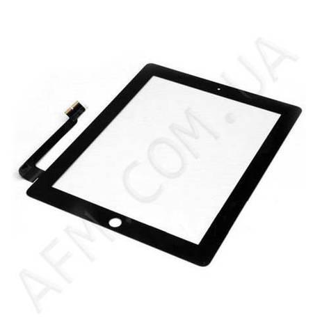 Сенсор (Touch screen) iPad 3/  iPad 4 чёрный, фото 2